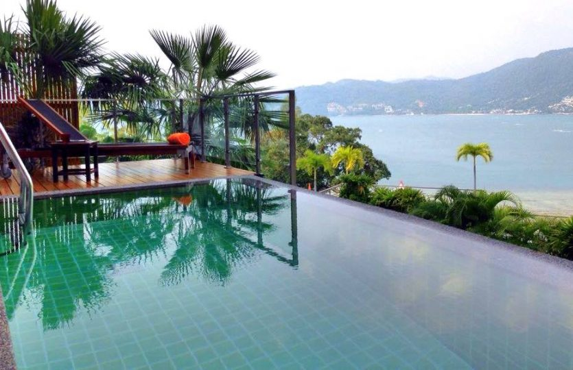 PAT47 Private Pool Villa Overlooking Patong bay