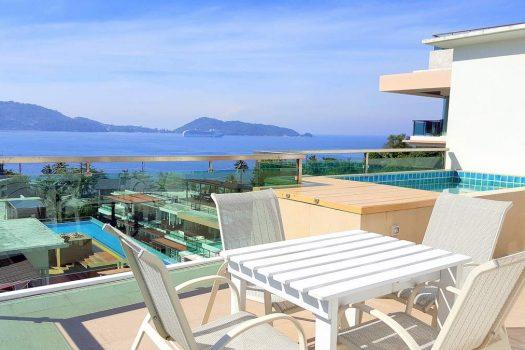 Rent Sea View Apartment Kalim Beach PAT37