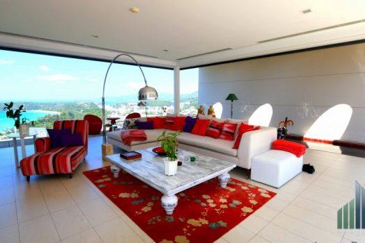 Vente Appartement Penthouse Vue Mer Kata Phuket KAT09