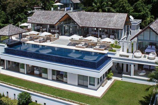 SUR04 Rent Luxury Villa Sea View Surin Beach Phuket