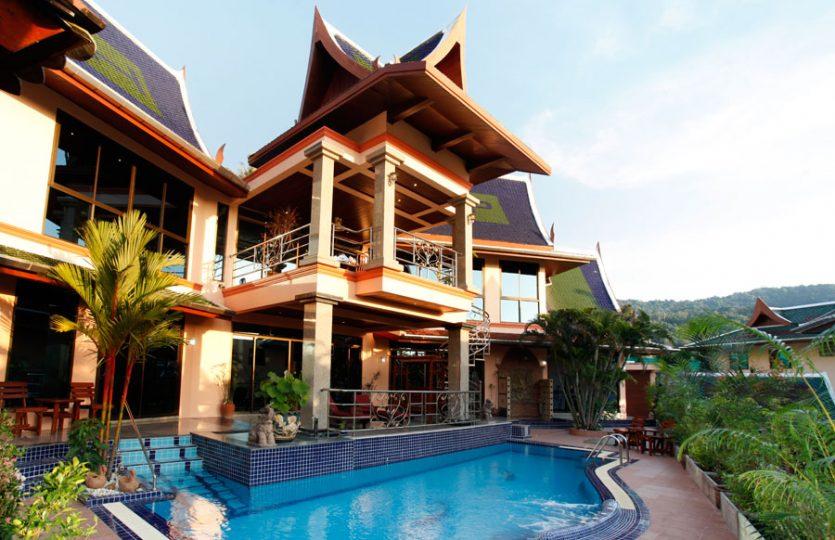 KAT05 Luxury Thai Style Villa Sea View Kata Phuket20