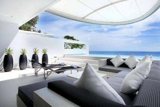 KAT13 Luxury Villa Oceanfront In Kata Beach
