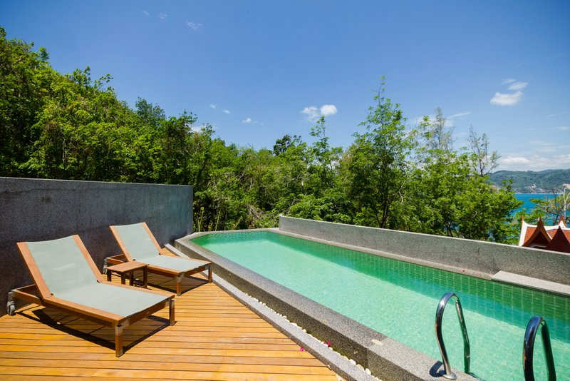 PAT46 Rent Seaview Private Pool Villa Patong Phuket17