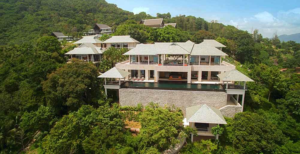 KAM56 Ocean Front Luxury Villa Kamala Phuket