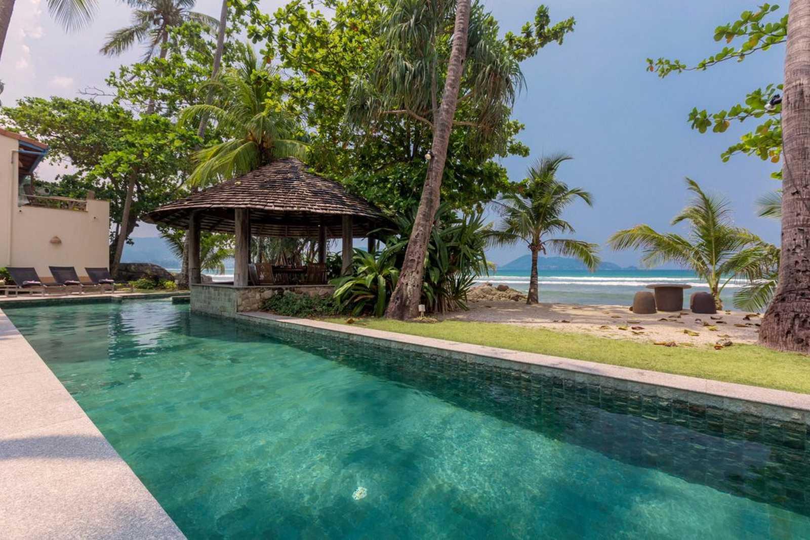 PAT59 Beachfront Pool Villa On Patong Bay