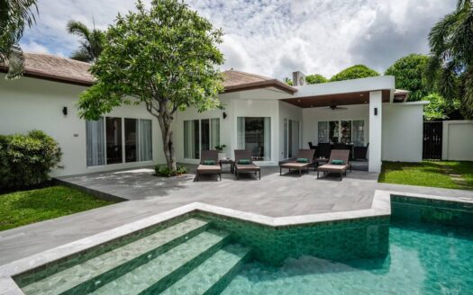 3 bedroom villa chalong 1 year rental