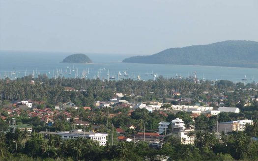 Chalong sea view land for sale