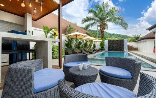 Five bedroom villa Rawai for rent