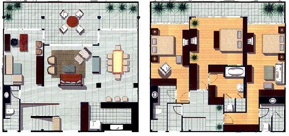 Full unit floor plan