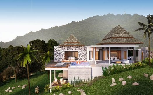 Kata Sea view villa