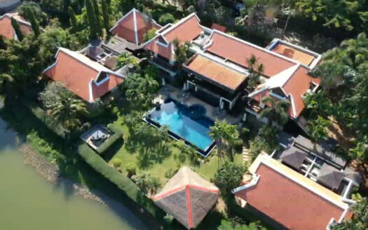 Nai Harn Baan Bua Lagoon view villa for sale