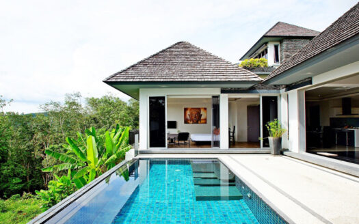 Layan beach sea view villa for sale phuket