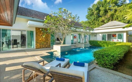 Chalong modern pool villa for sale
