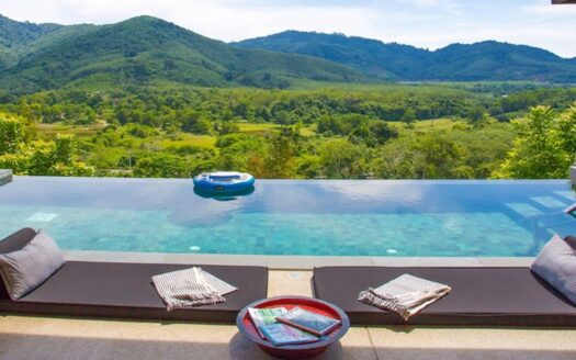Phuket mountain view villas for sale