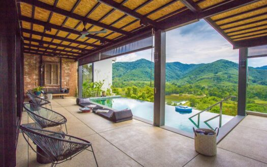phuket luxury hillside villa with view