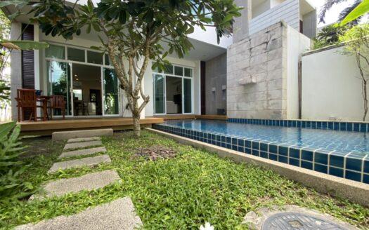phuket two villas for investment Nai Harn