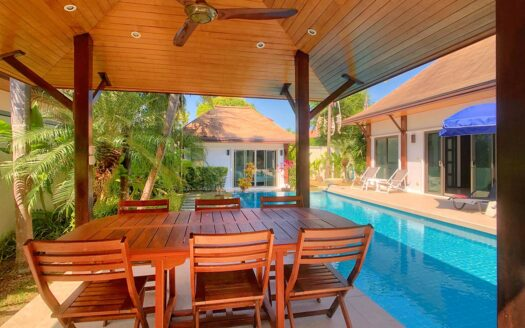 Rawai 3 bed thai balinese villa for sale