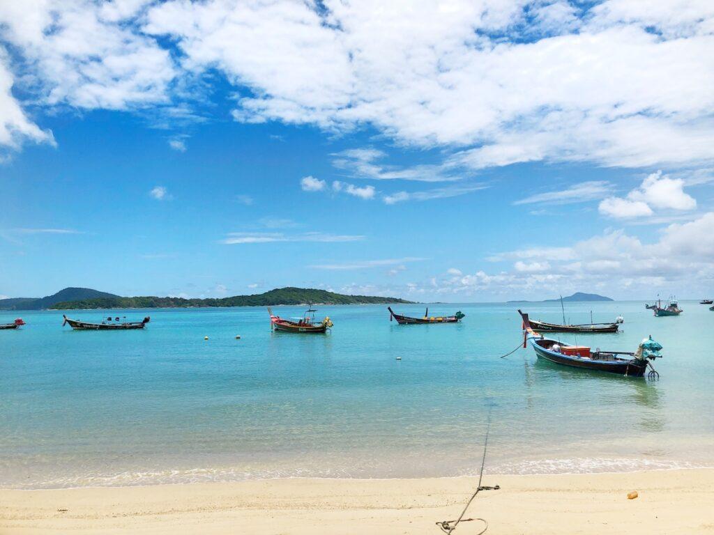 La plage de Rawai à Phuket