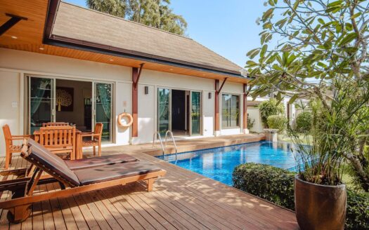 Nai Harn pool villa long term rental